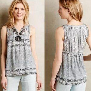 Anthropologie Akemi + Kin Morning Glory Tank Top